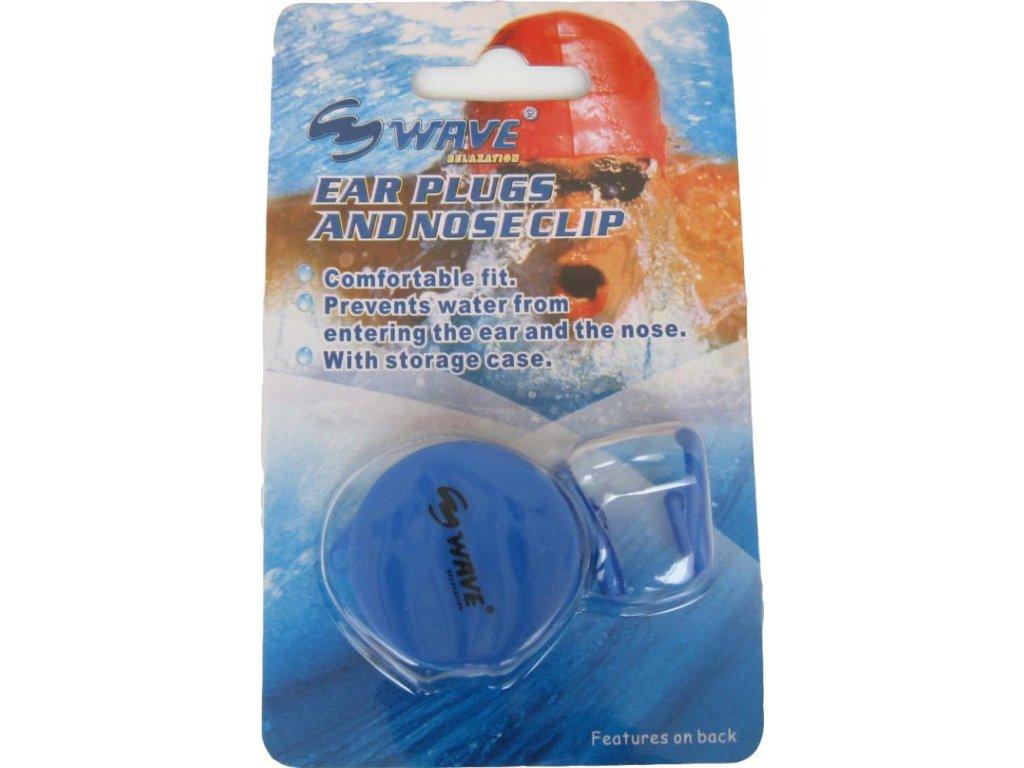 Ucpávky do uší a klapky na nos, Wave, silikon