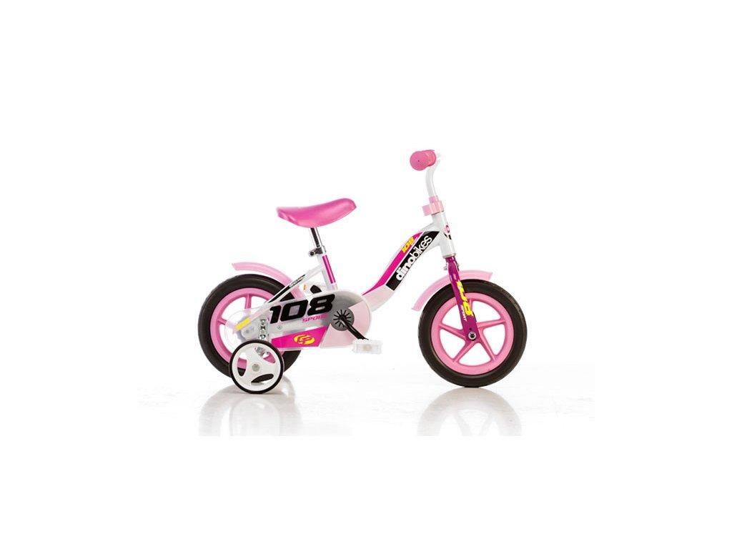 Dětské kolo Dino 108L růžová 10