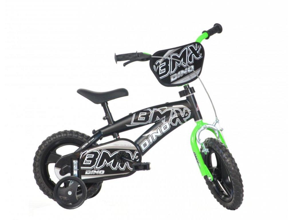 Dětské kolo Dino BMX 125XL černo-oranžové 12