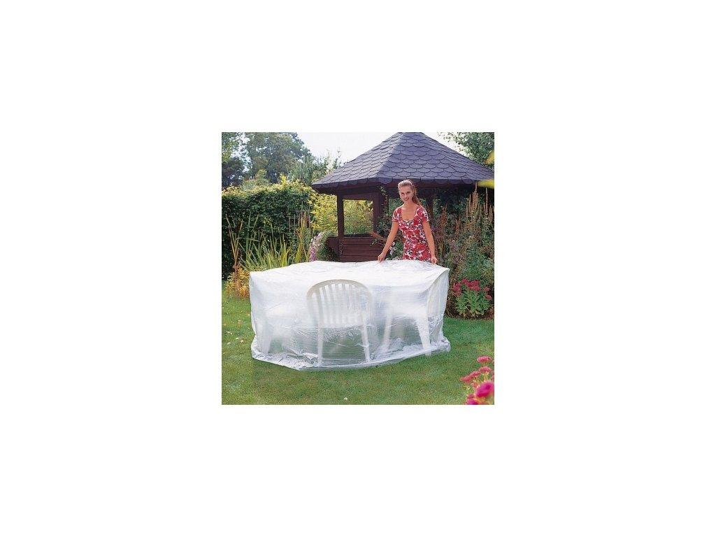 Krycí obal (plachta) Wehncke na zahradní stůl a židle