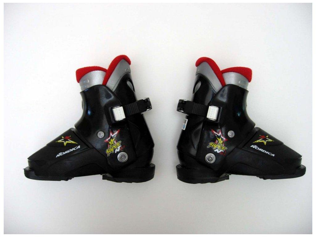 Dětské lyžáky Nordica - No.1, 1 přezka 185 mm