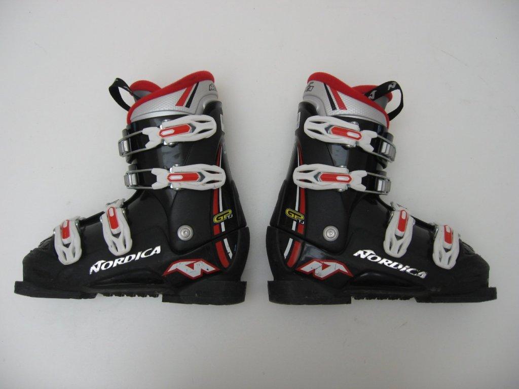 Dětské lyžáky Nordica - GP TJ, 4 přezky 235 mm