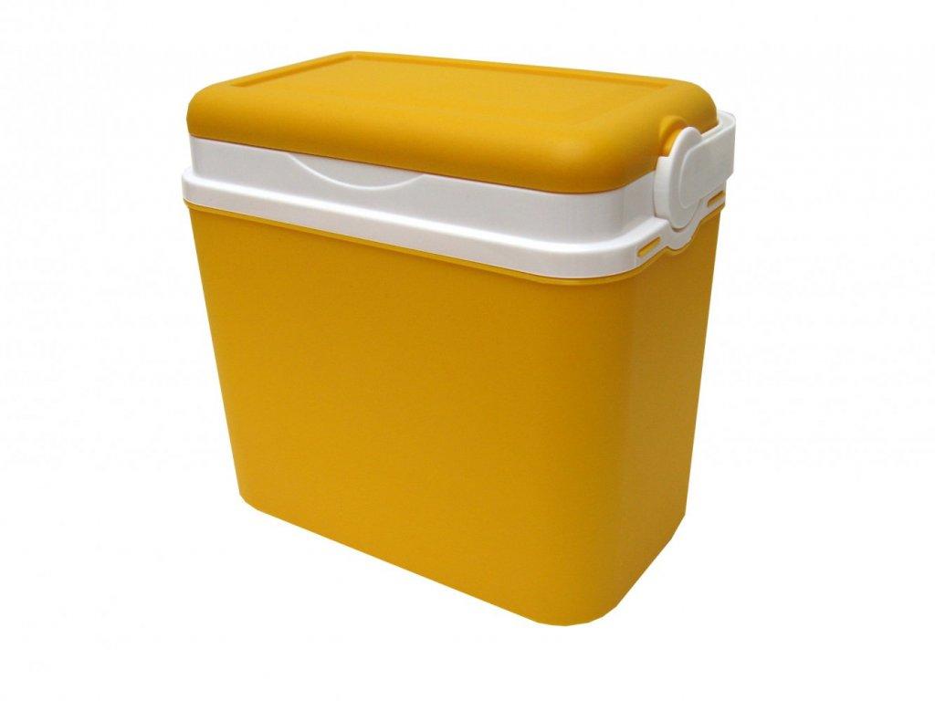 Chladící box Adriatic 10 l žlutá
