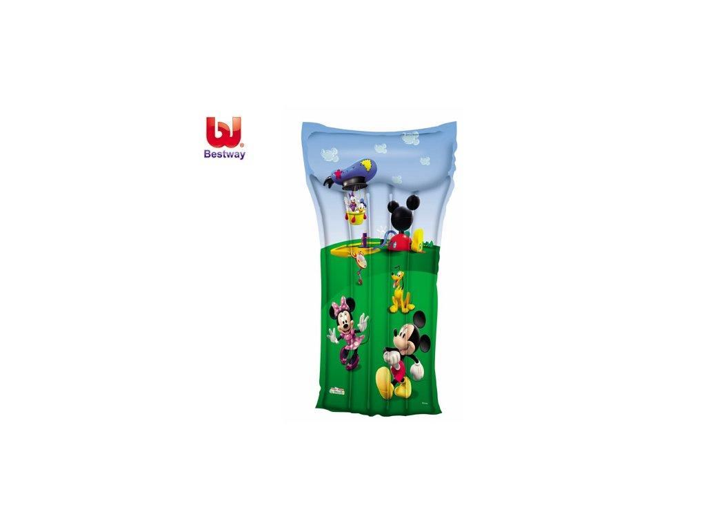 Nafukovací lehátko Mickey Mouse Bestway 91006