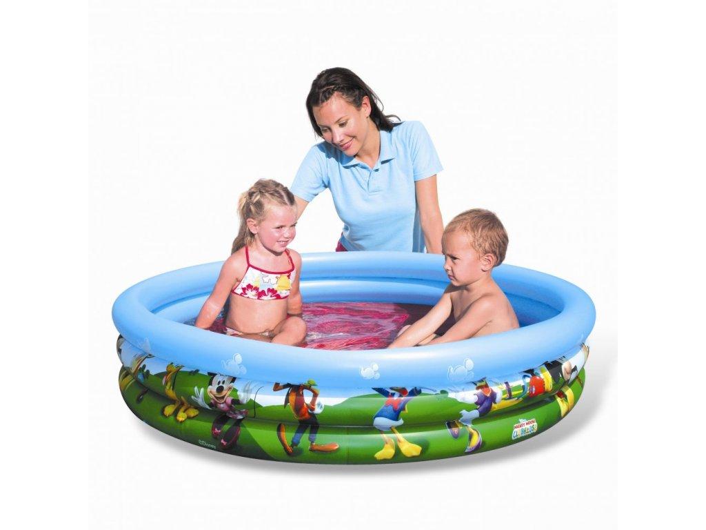 Dětský nafukovací bazén Mickey Mouse 122x25 cm