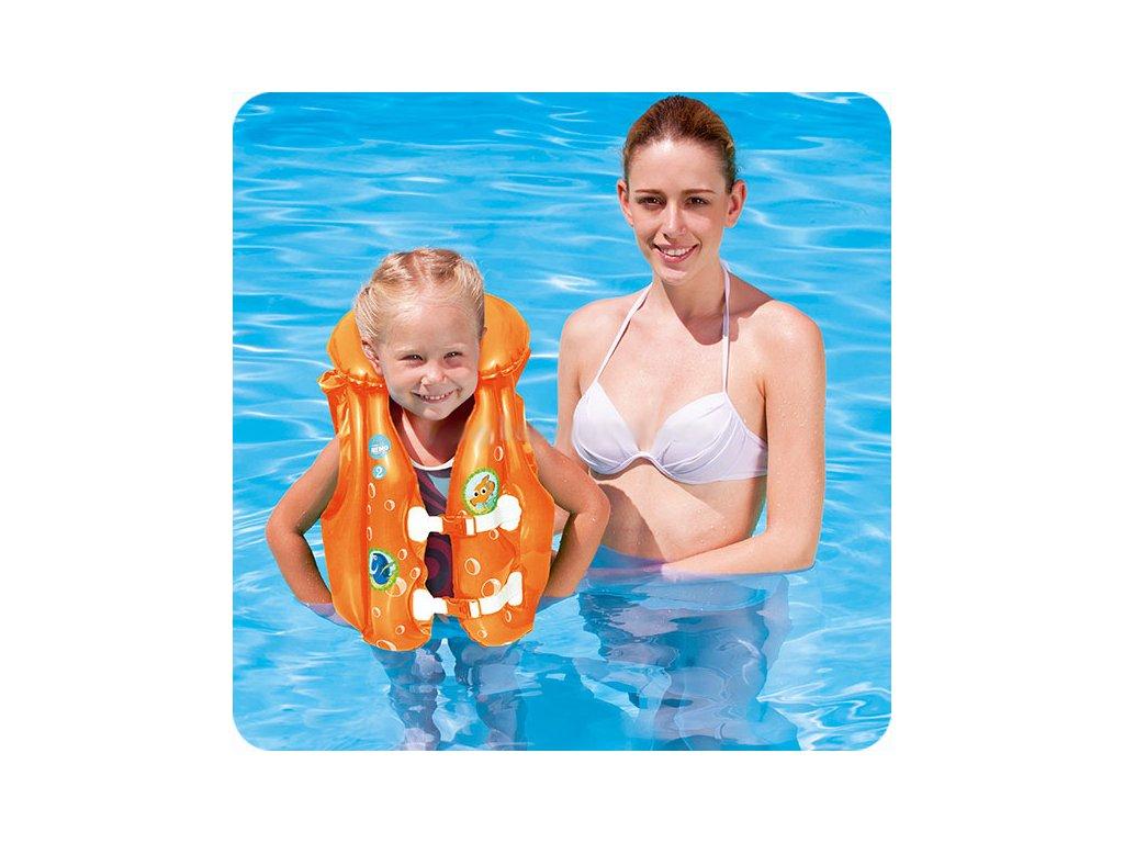 Dětská plavací nafukovací vesta Finding Nemo