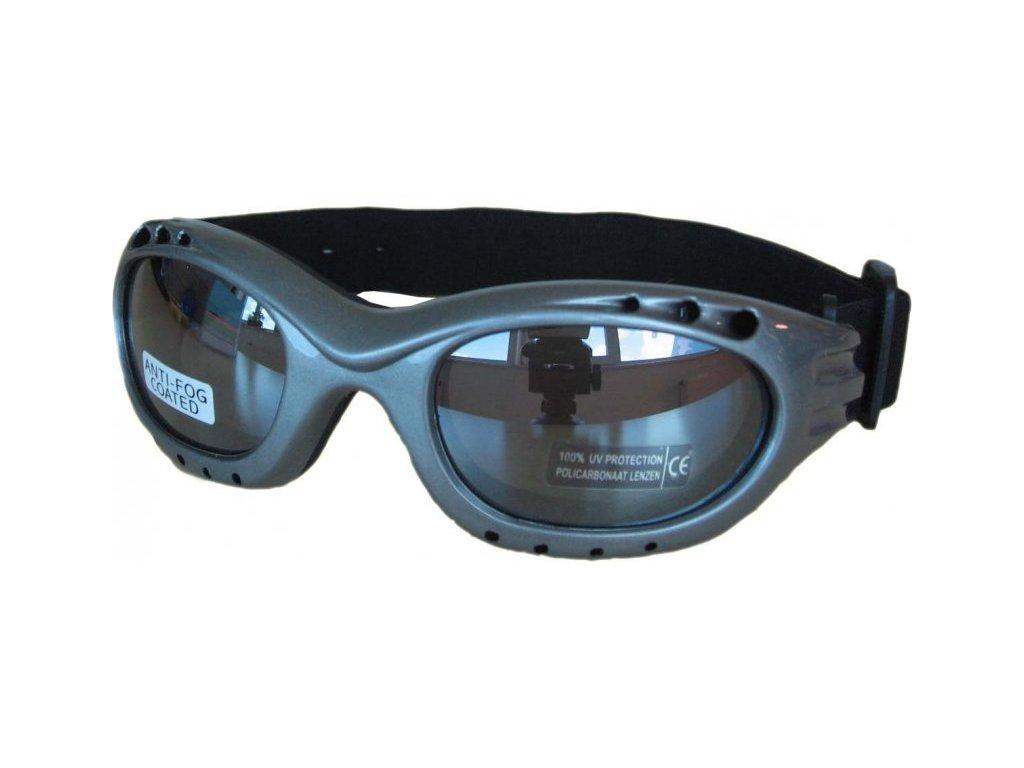 Sluneční lyžařské brýle Cortini 91480 silver