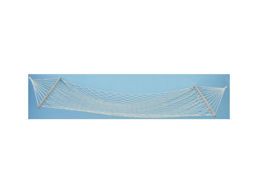 Houpací síť White 200x80 cm, nosnost 100 kg