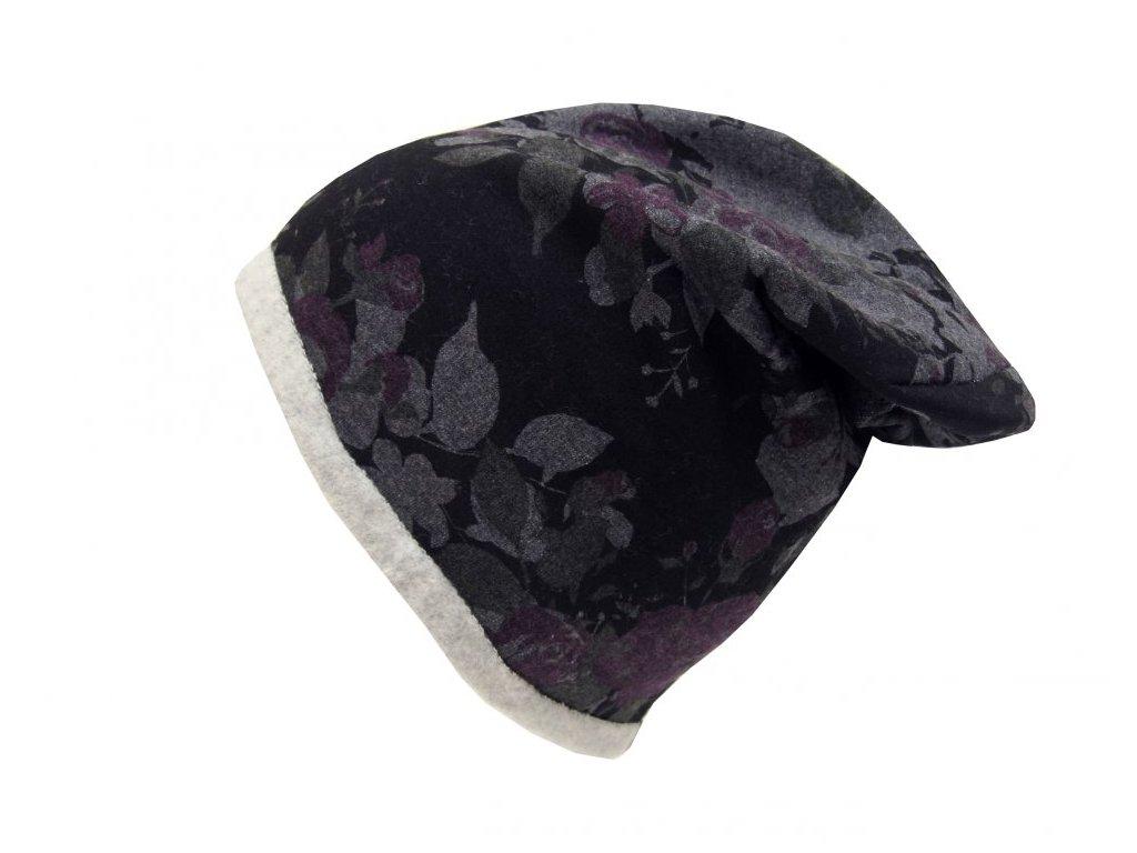 Zimní rasta čepice Hat You CP2044  černá