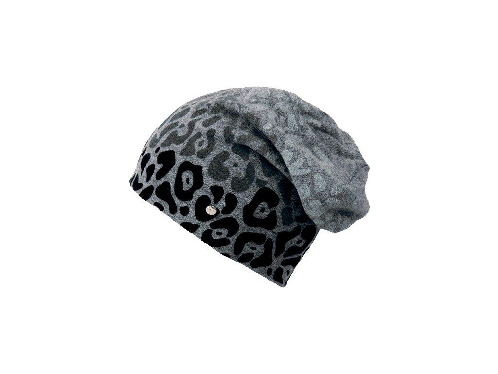 Zimní rasta čepice Hat You CP2084 šedá