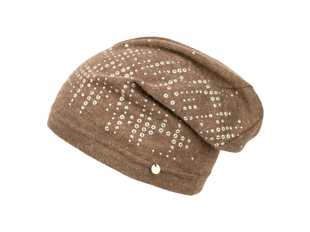 Zimní rasta čepice Hat You CP2108 hnědá