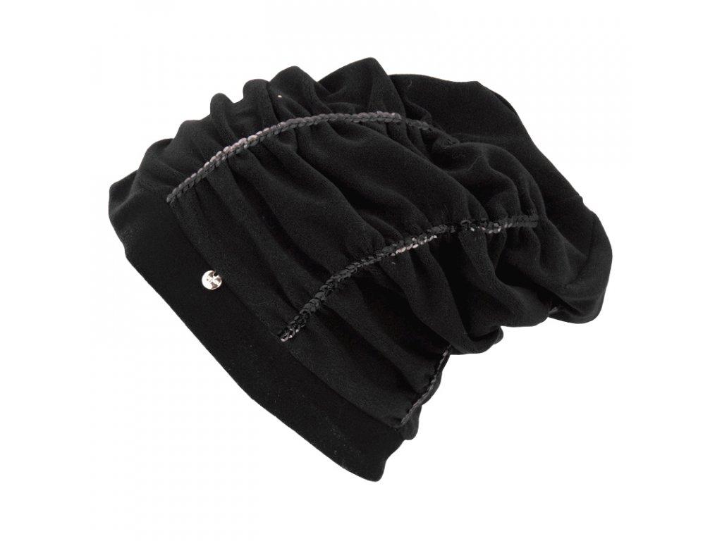 Zimní rasta čepice Hat You CP2112 černá