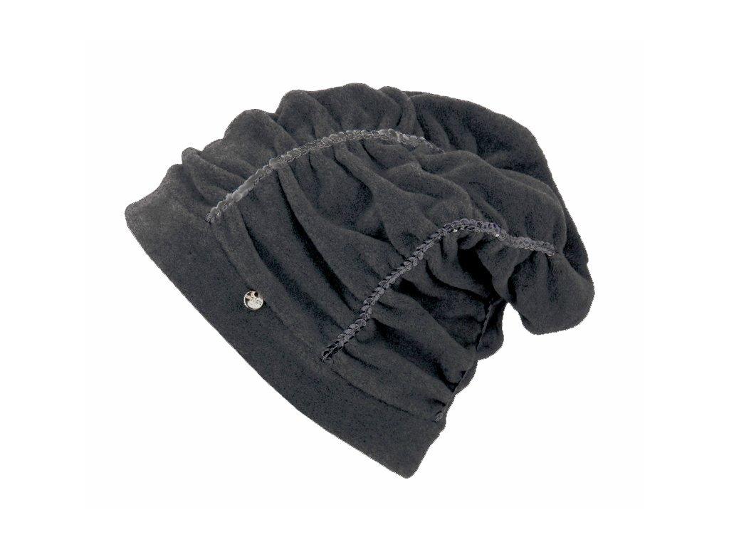 Zimní rasta čepice Hat You CP2112 šedá
