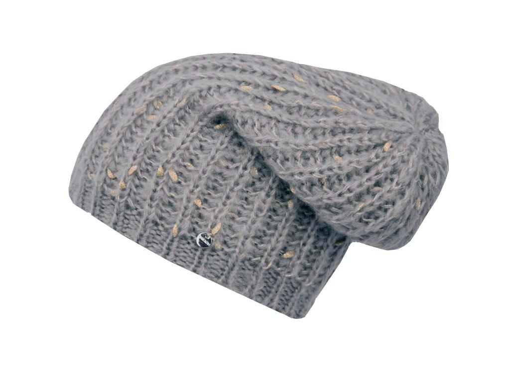 Zimní rasta čepice Hat You CP2120 šedá