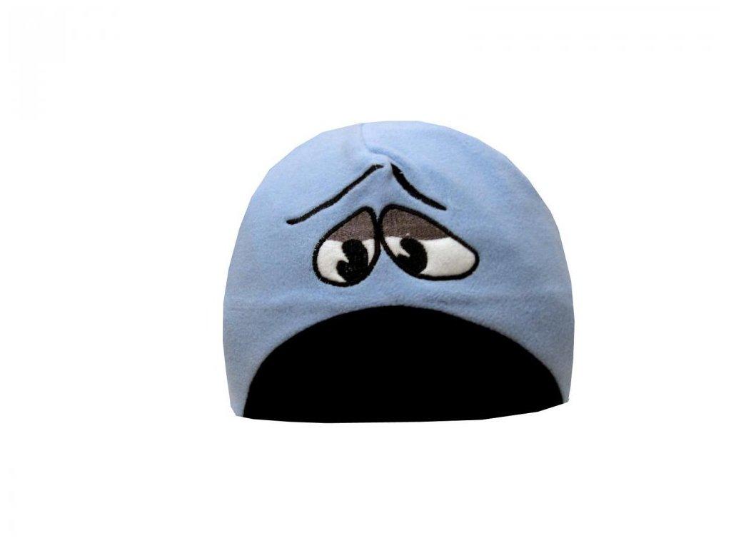 Zimní čepice Mess CP838 Bored modrá