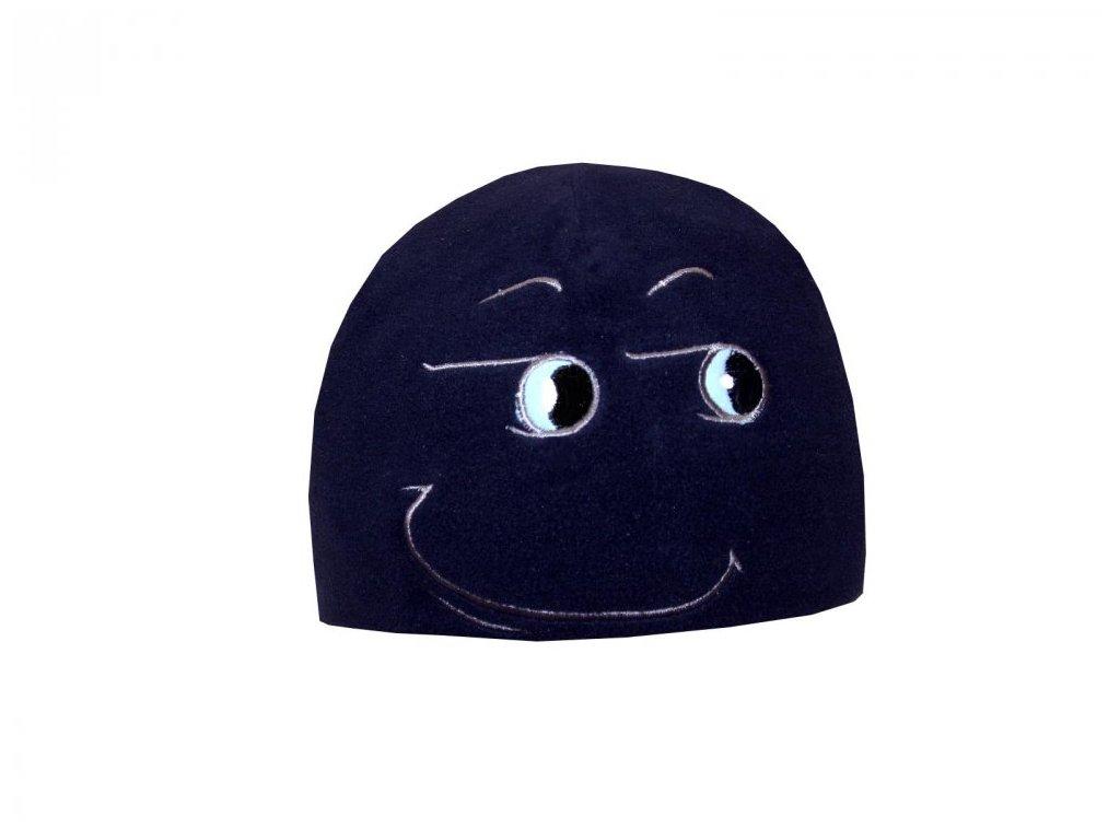 Zimní čepice Mess CP838 Curious tmavě modrá