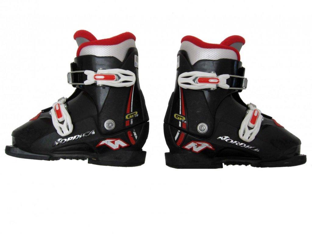 Dětské lyžáky Nordica - GP T2, 2 přezky 195 mm