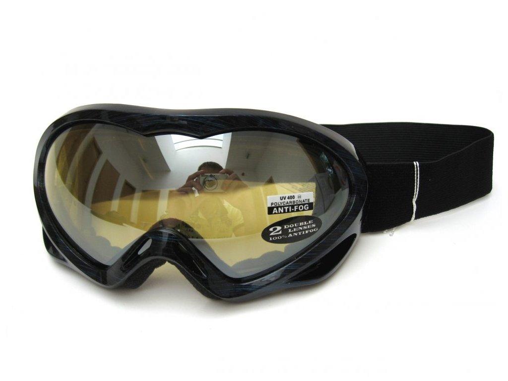 Lyžařské brýle Cortini G1230-6 modré čárky