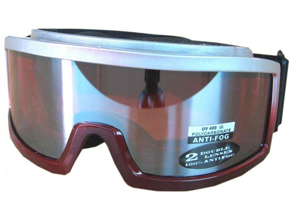 Lyžařské brýle Cortini G1419A-3 junior červené