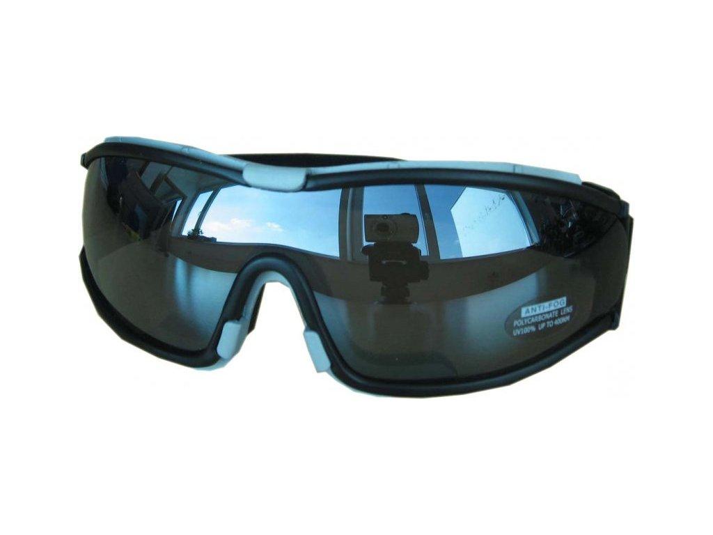 Lyžařské sluneční brýle Cortini senior černé