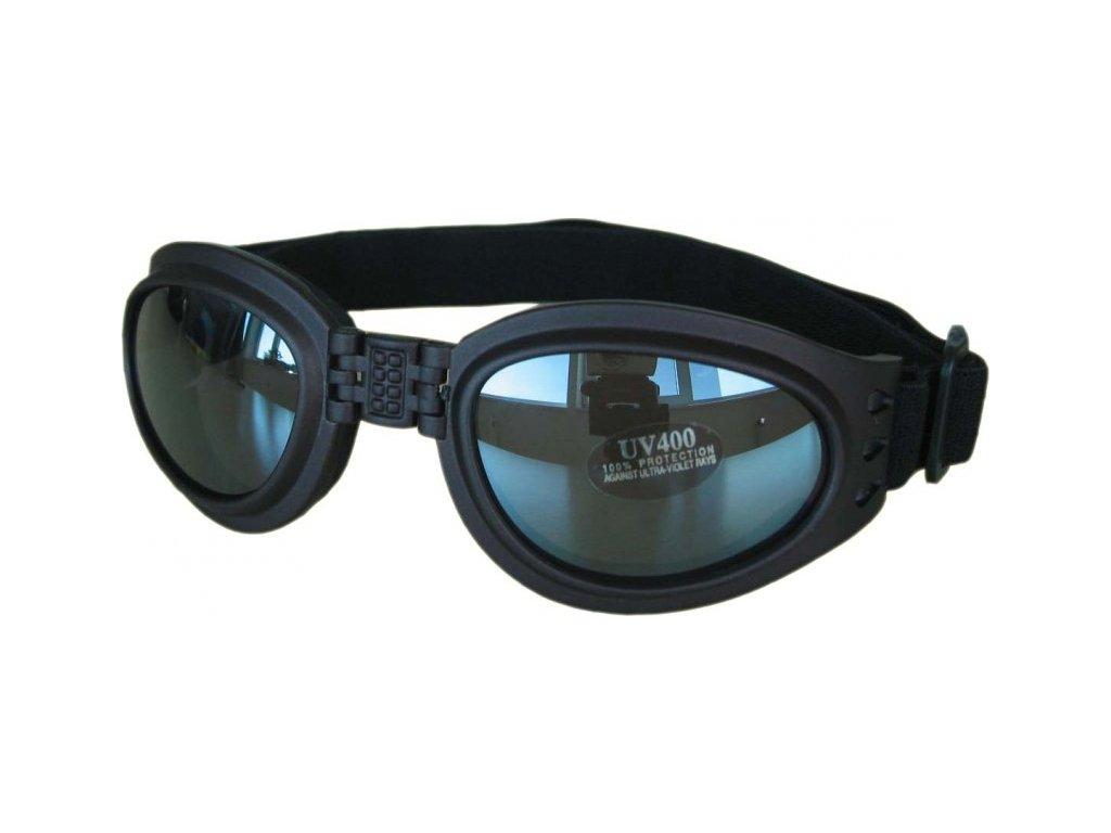 Lyžařské sluneční brýle SP27, černé