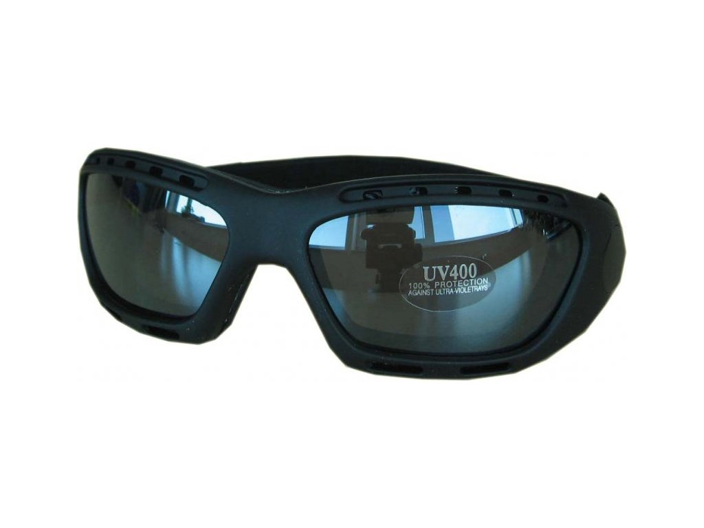 Lyžařské sluneční brýle Cortini SP69 Black