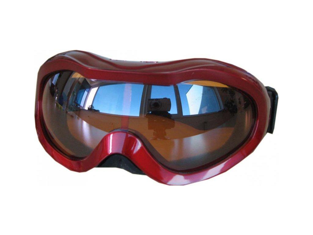 Lyžařské brýle Cortini Snowball junior červené