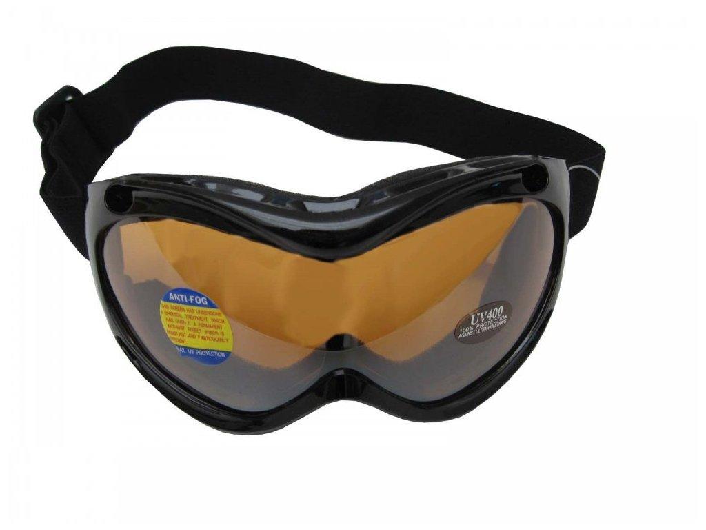 Lyžařské brýle Cortini Snowmen dětské černé