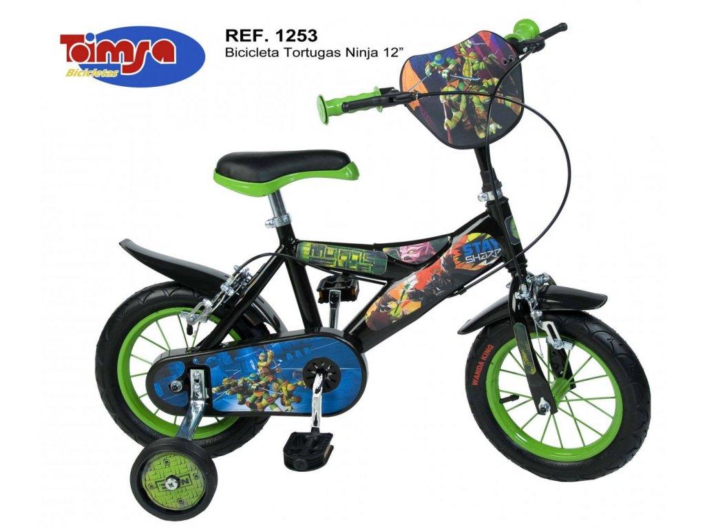 Dětské kolo Toimsa Želvy Ninja 12
