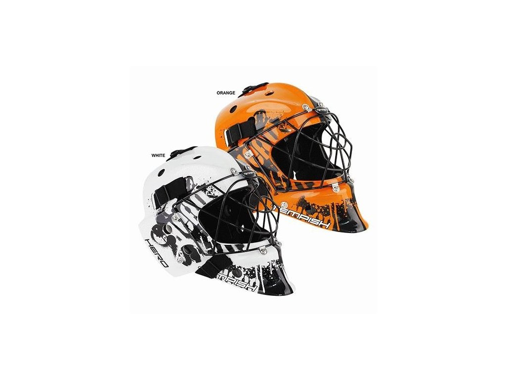 HERO COLOR brankářská maska na florbal