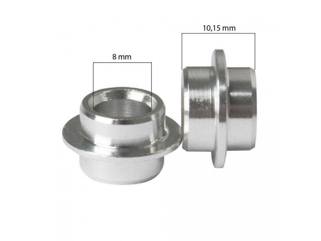 SPACER (10,15 mm) set (8 ks), vnitřní průměr 8 mm