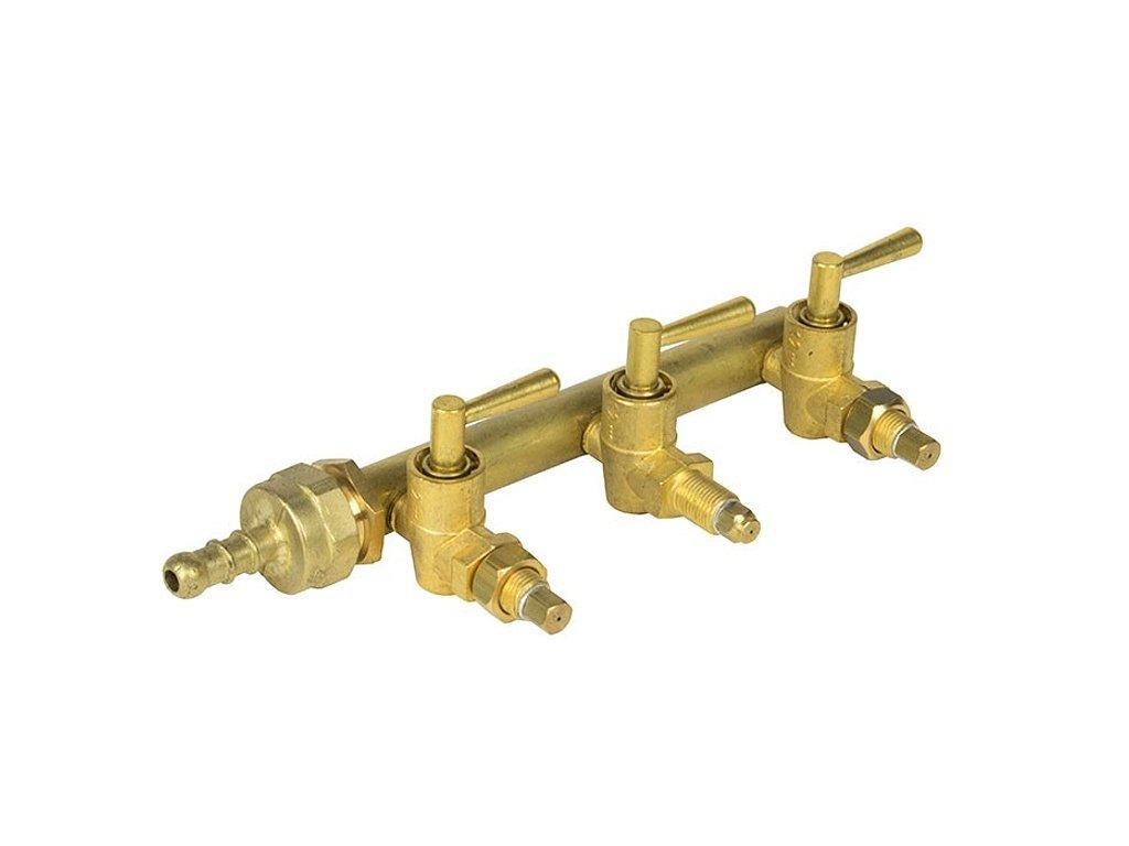Třícestný regulační ventil Foker T.G.