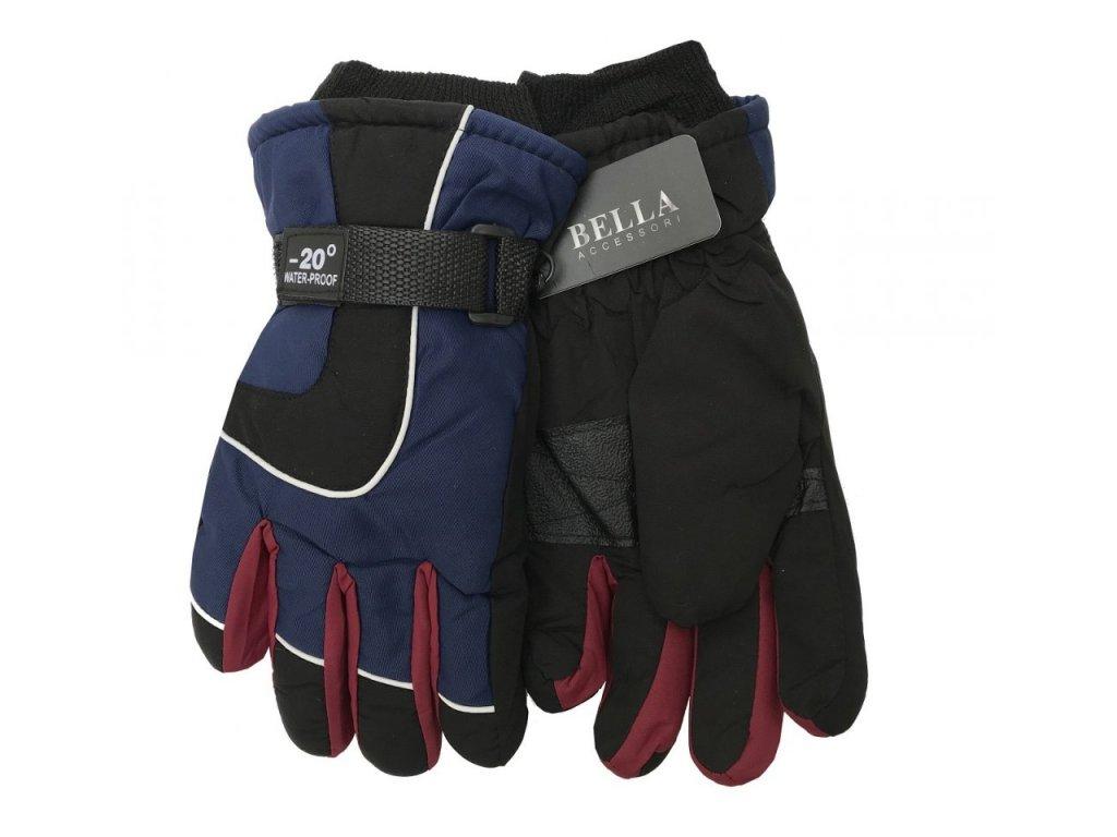 Dětské zimní rukavice Bella Accessori 9010-6 tmavě modrá