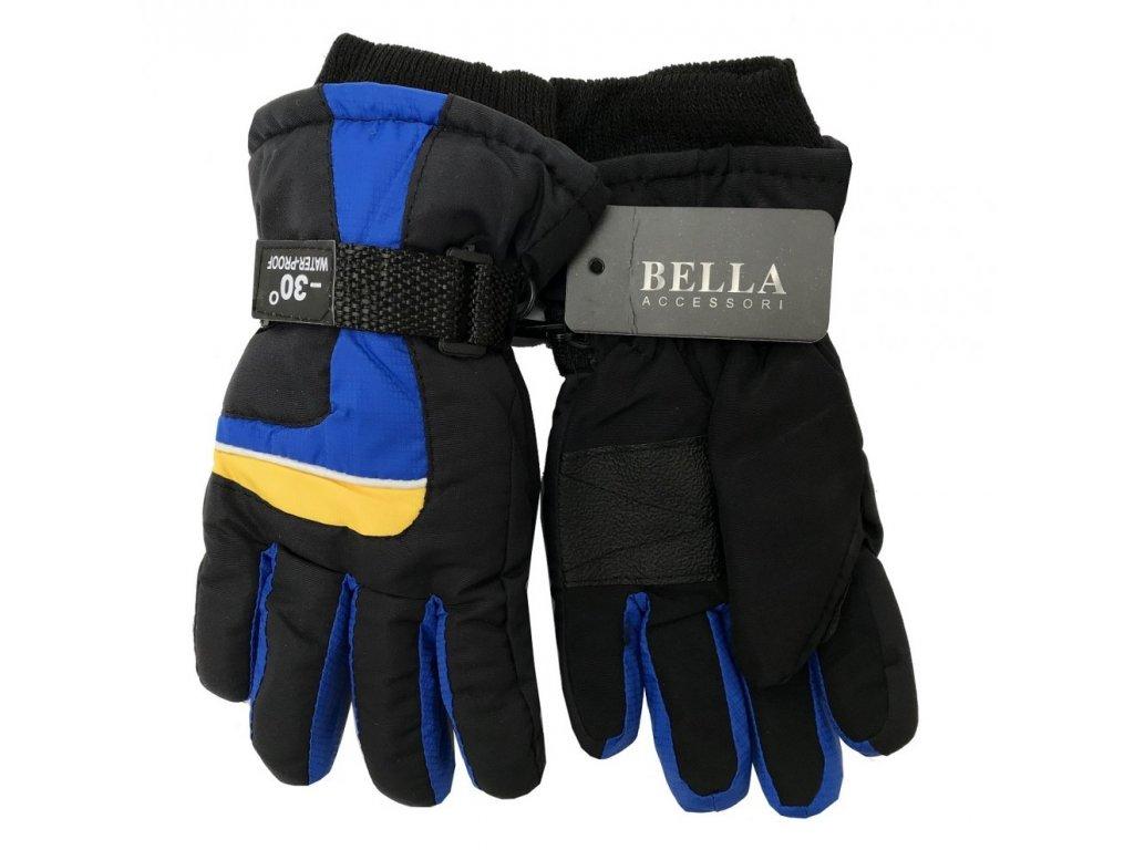 Dětské zimní rukavice Bella Accessori 9012S-4 modrá