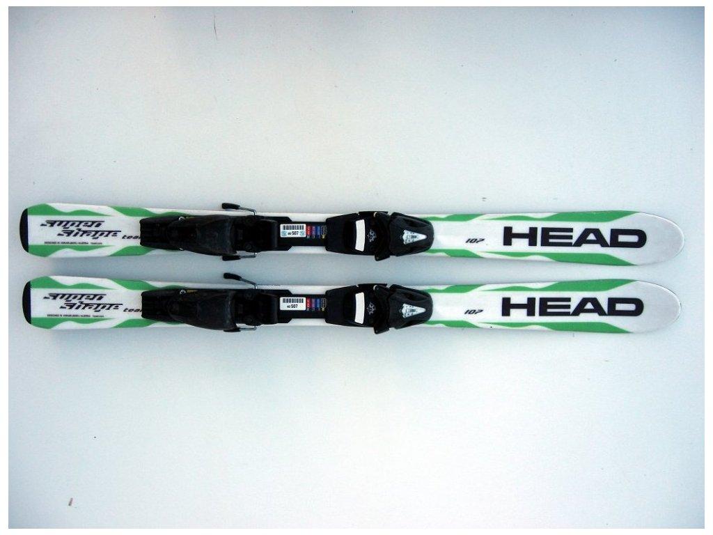Dětské lyže Head Supershape 107 cm