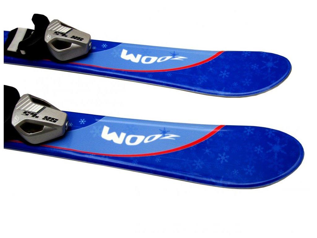 Dětské lyže Alpina Zoom modré 90 cm - Sport4outlet 9f0ffe41d24