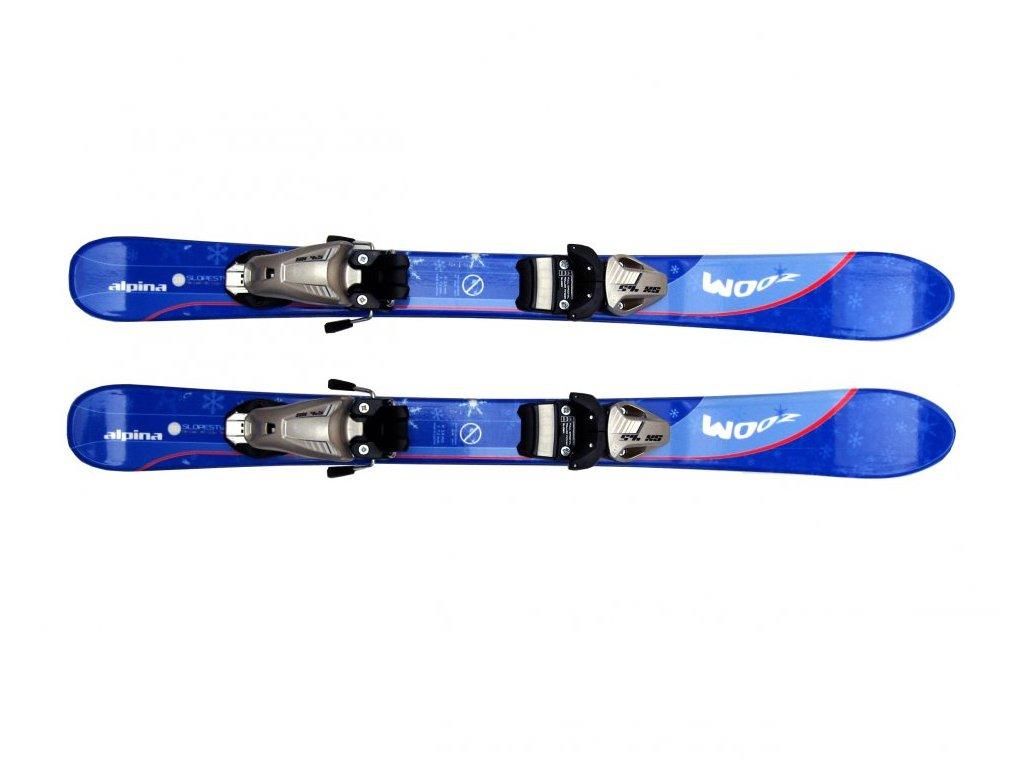 Dětské lyže Alpina Zoom modré 90 cm