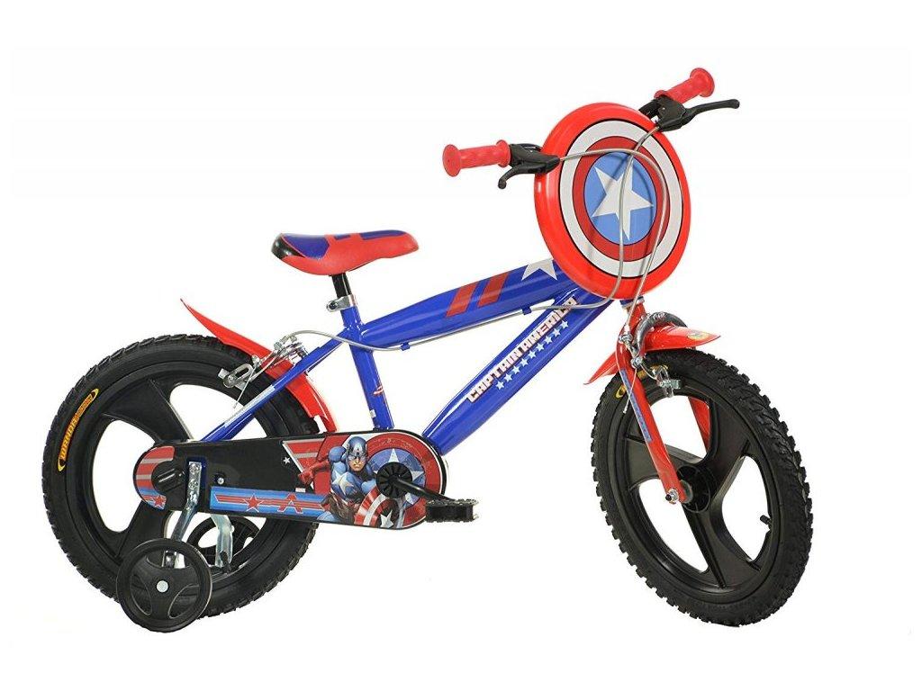 Dětské kolo Dino 416UL-CA Captain America 16