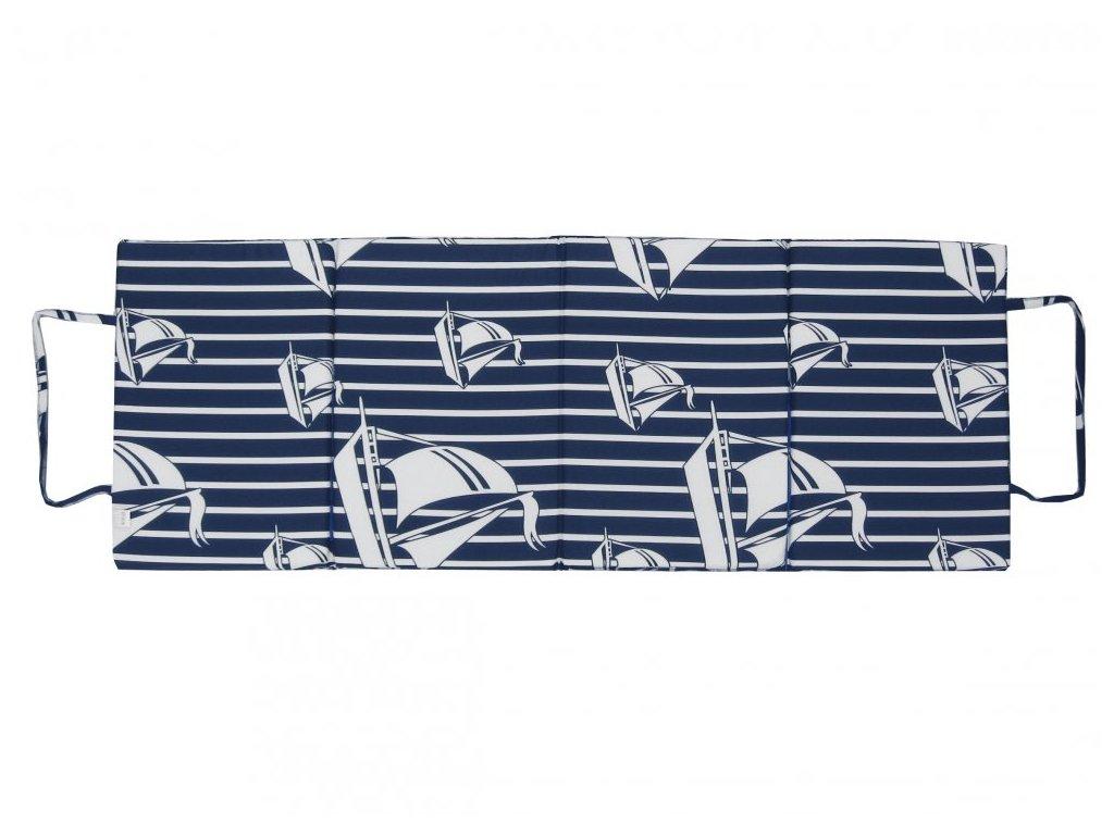 Skládací plážové molitanové lehátko Trieste-72 3 cm