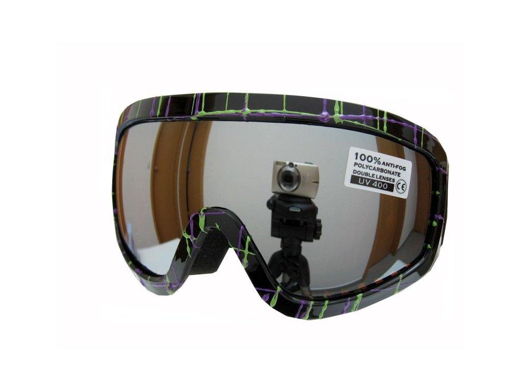 Dětské lyžařské brýle Spheric Minnesota G1306K-7,8