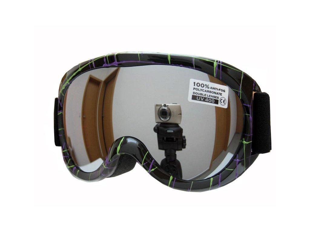 Dětské lyžařské brýle Spheric Ontario G1468-1K-7,8