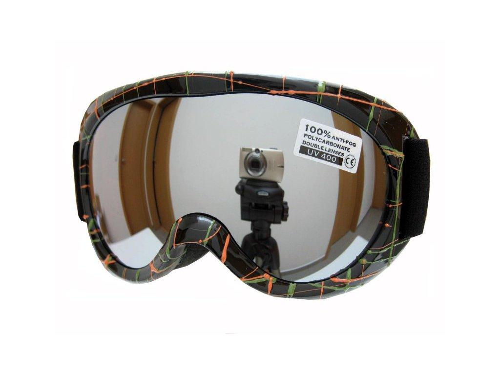 Dětské lyžařské brýle Spheric Ontario G1468-1K-9,10