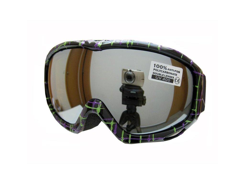 Dětské lyžařské brýle Spheric Montreal G1540K-7,8