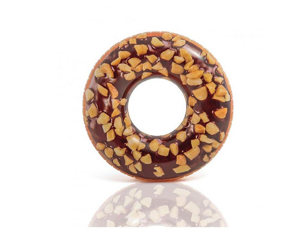intex nafukovaci kruh 56262 nutty chocolate donut