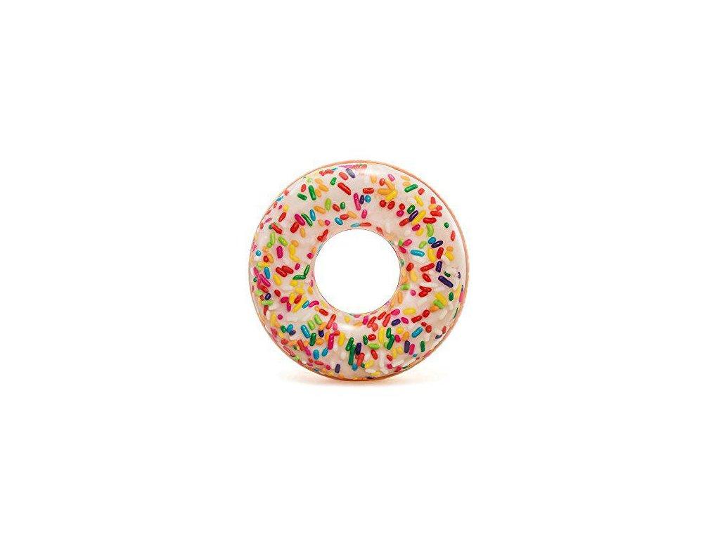 intex nafukovaci kruh 56263 sprinkle donut