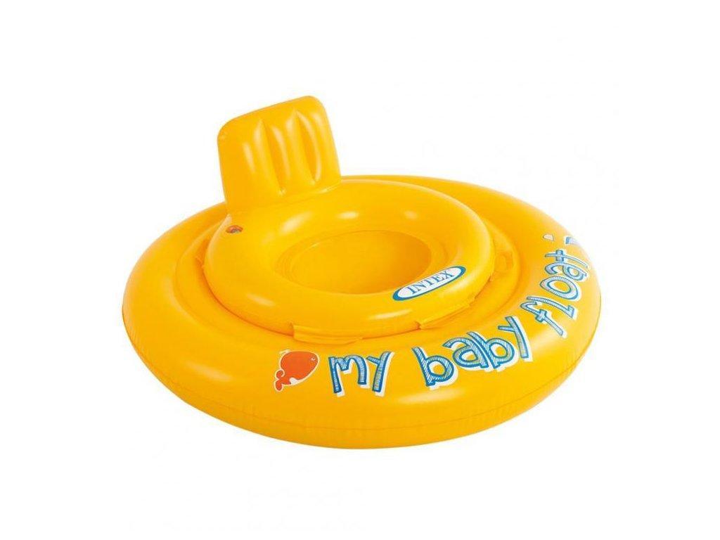 kruh detsky dvojity my baby float intex 56585