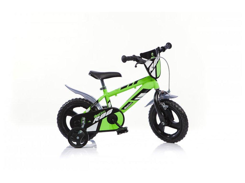 Dětské kolo Dino Rap 412UL zelené 12