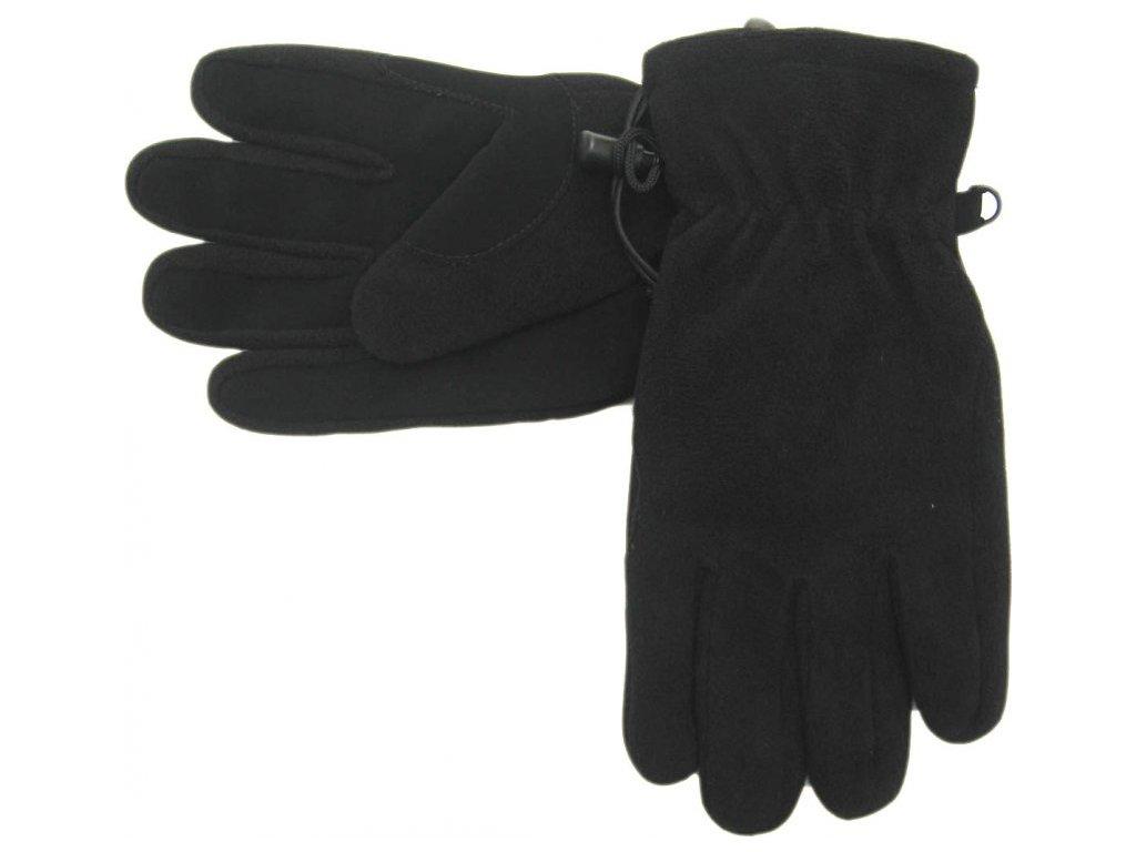 Zimní fleecové rukavice Mess GL347 s podšívkou
