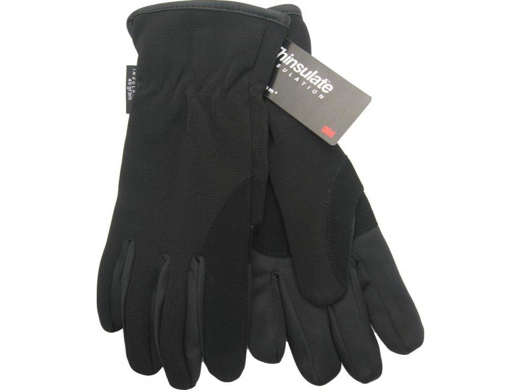 Zimní zateplené rukavice Mess GL434 s vrstvou Thininsulate