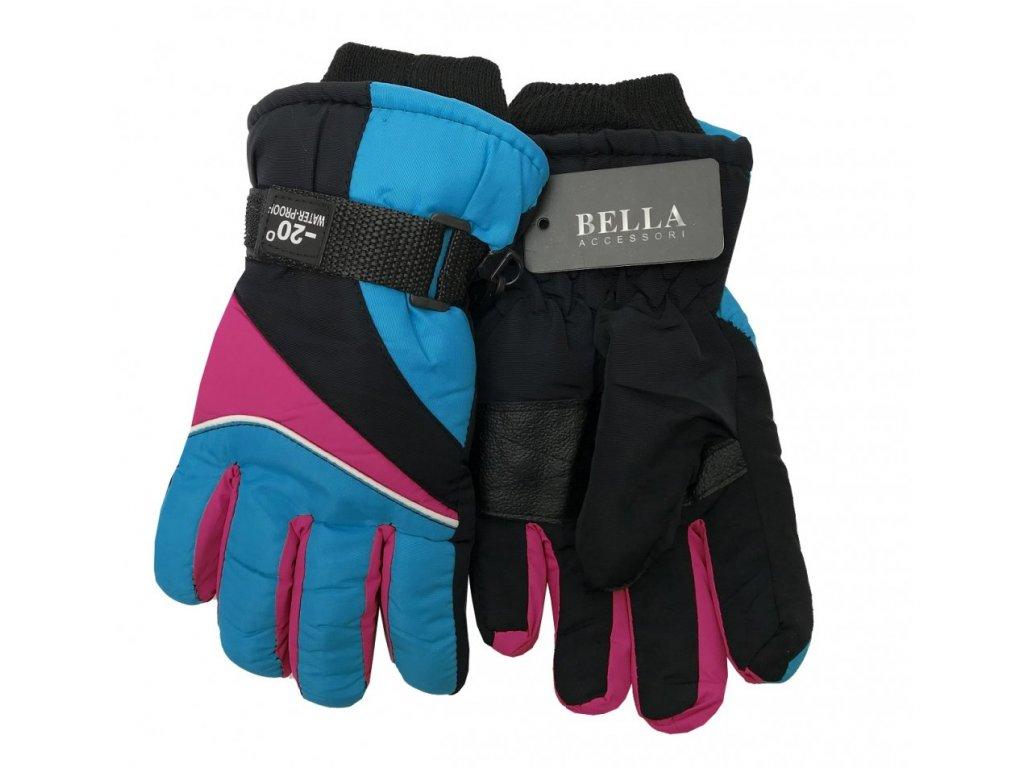 Dětské zimní rukavice Bella Accessori 9009-8 modrá